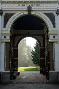 Hoofdingang begraafplaats Rustoord